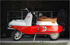 Hand-Built Retro Scooters - This Cezeta Electric Scooter is Inspired by Its 1950s Original Design