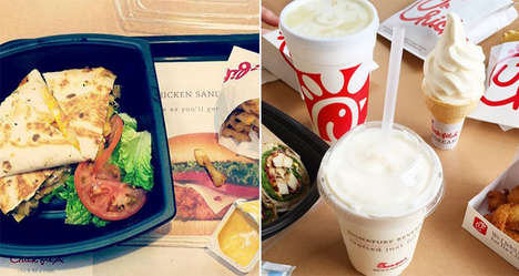 Secret Fast Food Fares - Chick-Fil-A Offers a Decadent Array of Secret Meals in NYC