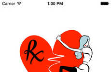 Therapeutic Breakup Apps - The 'Rx Breakup' App is Designed to Mend a Broken Heart