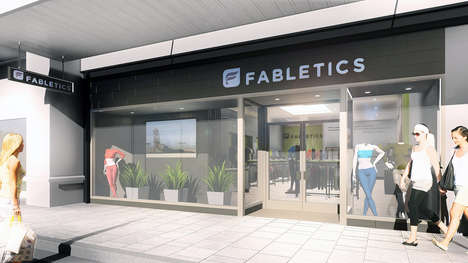 Celebrity Activewear Shops - Fabletics by Kate Hudson Will Soon Open Its First Retail Store