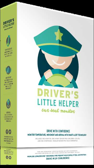App-Connected Car Seat Monitors - 'Driver's Little Helper' Alerts the Driver If the Car is Too Hot
