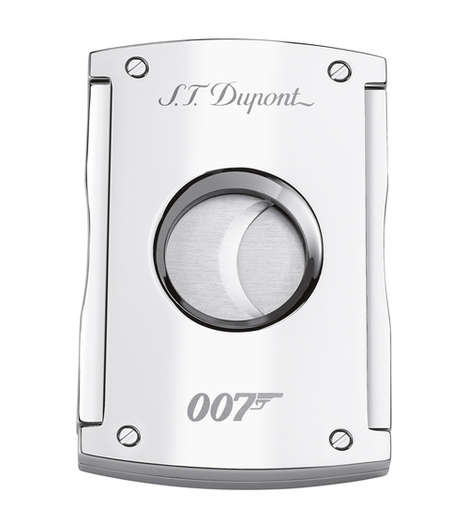 The S.T.Dupont x James Bond Cigarette Lighters Honor the Latest Spy Film