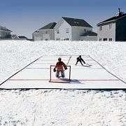 Portable 15 Foot Backyard Ice Rink