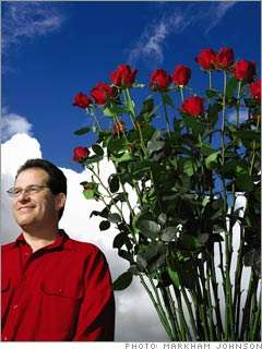 Long Stem Roses Reach New Heights