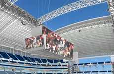 20,000 Square Foot Video Screen