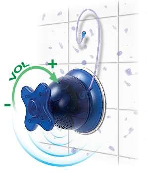 Tap Shower Radio