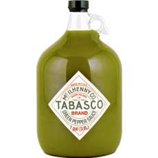 Green Tabasco by the Gallon