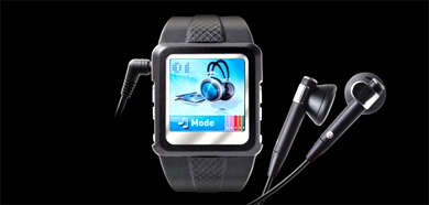 MP4 Watch - Movies on Your Wrist