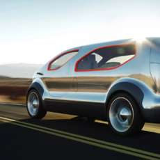 Ford Airstream Concept - Hybrid Meets E.T.