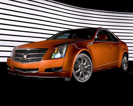 2008 Cadillac CTS Revealed