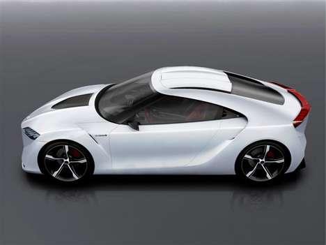 Toyota FT-HS 400 Horsepower Hybrid Car