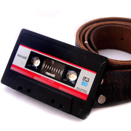 Cassette Belt Buckles - You're Not Cool Enough to Pull it Off