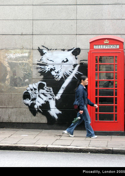 Banksy Launches Website