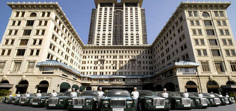 Rolls Royce Hotel - Hong Kong Hotel Provides Guests with Sweet Ride