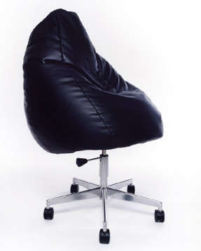 Bean Bag Corporate Chair - Marie-Louise Gustafsson's Chair for Slackers