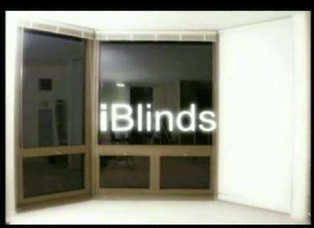 iBlinds - Convert Your Blinds into an iPod Controlled Equalizer