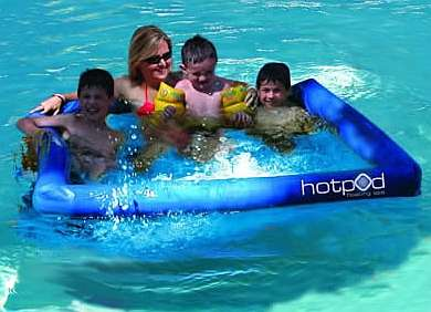 The Hot Pod Floating Spa