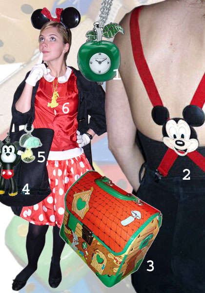Mickey Couture? - Hip Fashion Influenced Influenced by Cartoons