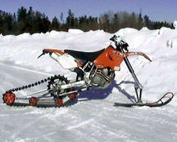 Motorcycle Snow Conversion Kit