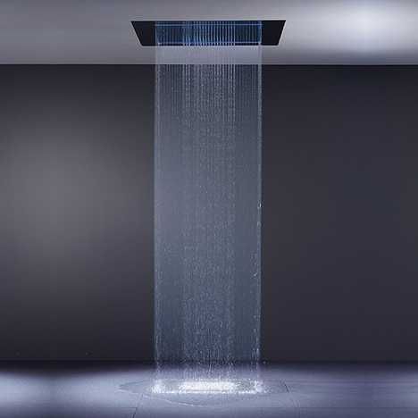 RainSky Waterfall Shower - The Pleasure of Rain in Your Bathroom