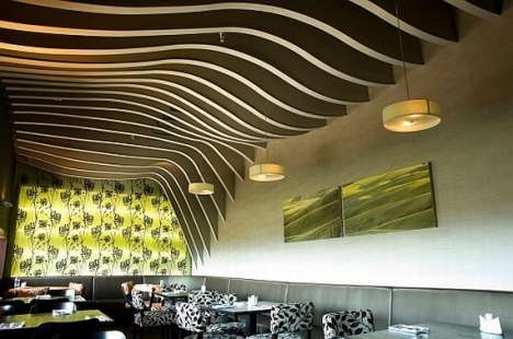 Hill and Valley Inspired Ceilings