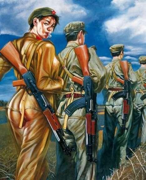 Anime Army Recruitment