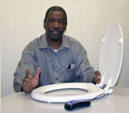 Stimulating Bathroom Fixtures - The Vibrating Toilet Seat