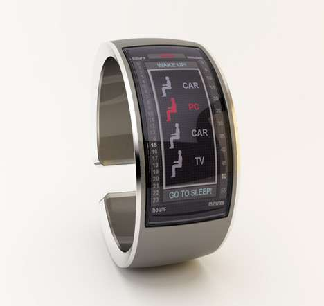Tech-Obsessed Timepieces - The 'Cycle of Life' Watch