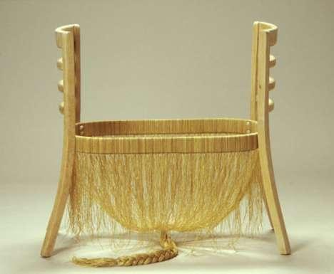 Human Hair Chairs
