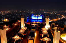 Rooftop Bars - Elevated Nightlife Hotspots