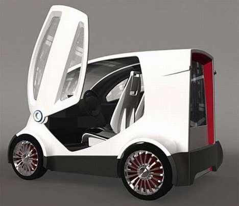 Self-Service Rental Microcars