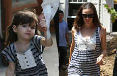 Kid Fashion for Adults - Jennifer Garner and Suri Cruise in Same Shirt