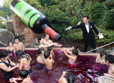 Wine-Filled Swimming Pools