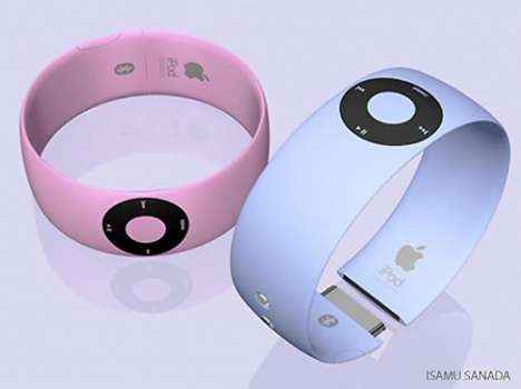 MP3 Players as Jewelry - The iPod Shuffle Bracelet
