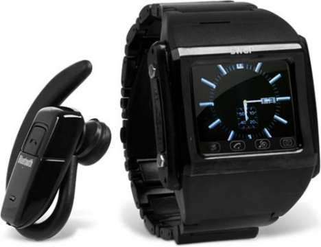 Wrist-Worn Mobile Phones - The sWaP Watch