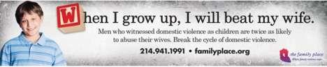 Controversial Domestic Violence Campaigns