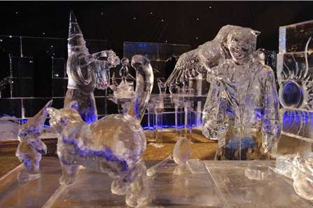Movie Themed Ice Sculptures