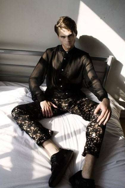 Lace Fashion for Men