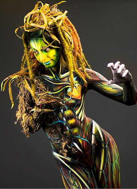 International Skin Art Competitions Stockholm Body Painting Contest