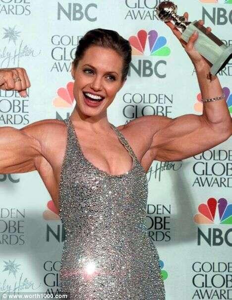 Body Builder Photoshopping