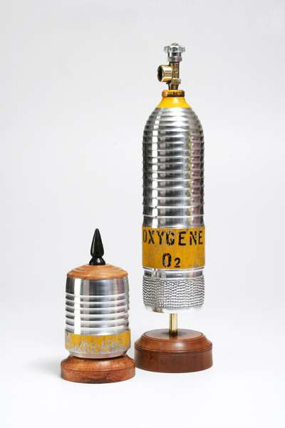 Real Everest Canisters as Art