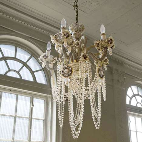 The Glam Rock Chandelier
