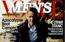 Jailbirds as Cover Models - Keifer Sutherland in 'Men's Vogue'
