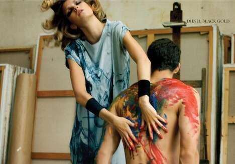 Body Painting Editorials