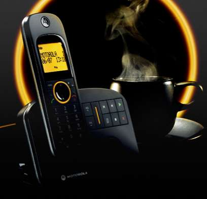 Cell-Inspired Cordless Phones - Motorola DC 10