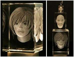 Personalized Facial Statues