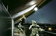 Cyburban Stormtroopers - 'Star Wars' in Paris by Delsaux