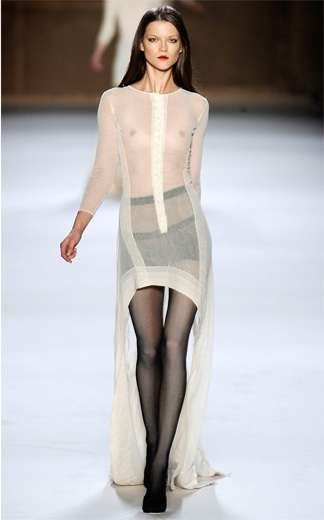 Haute See-Through Couture