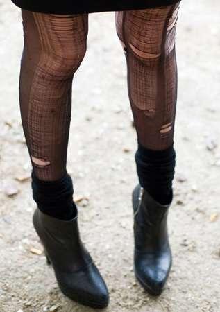 Self-Repairing Stockings