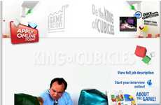 Virtual Job Interviews As Game Promos - King of Cubicles for 'Rubik's World'